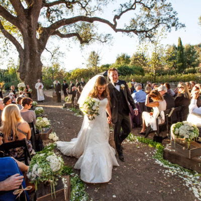 Beautiful Rustic California Wine Country Wedding at Campovida Winery